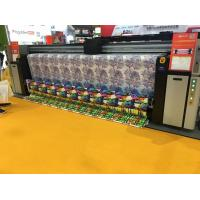 China Digital Dye Sublimation Fabric Banner Printing Machine For Clothes Print on sale