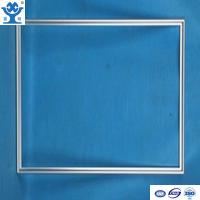 Quality Top quality silver anodized glossy aluminum picture frame for sale