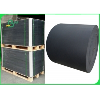 China 80gsm ~ 500gsm Black Core Paper For Playing Card Good Stiffness 70  x 100cm on sale