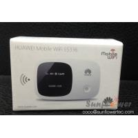 Quality HSPA+ Portable 3G Wireless Router Huawei E5336 3G 21.6Mbps Pocket WiFi Router for sale