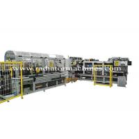 Quality Fully Automatic Radiator Production Line , Aluminium Radiator Core Builder Line for sale