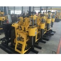 China Double Cylinder Hydraulic Feeding Rotary Type Core Drill Rig on sale