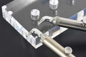 Quality 2020 hot Alumina spray gun dental High cost performance Convenient dental use aluminum dxide microblaster for sale