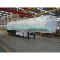 Buy 33 Cbm Heavy Duty Semi Trailers Oil Tank Trailer Stainless Steel 304 Material at wholesale prices