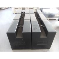 Quality Heavy Duty Cast Iron Weights OIML M1 50Kg To 5t Adjusting Cavity Design for sale
