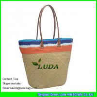 Quality seagrass straw beach bag totes for sale