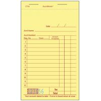 Buy cheap CT-1A guest checks  2parts white booked ISO Certificate from  TIMIpaper for restaurant fast selling in US MARKET from Wholesalers
