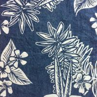 Quality DN439-5 100%Cotton Discharge Print Printing Denim for sale