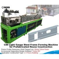 Quality Metal Sheet Roll Forming Machine Light Gauge Steel Framing Cold Roll Forming Machine for sale