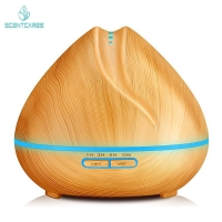Quality Cool Mist 300ML Essential Oil Diffuser Wood Grain Aromatherapy Diffuser for sale