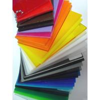 Quality 3mm clear white and colored cell cast acrylic sheets for sale for sale