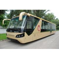 China Comfortable Diesel Engine 13 Seater Airport Apron Bus With Aluminum Apron on sale