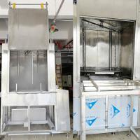 Quality SUS 306 Rotate Spray PCL Control Large Automatic Big Spare Parts Ultrasonic Cleaning for sale
