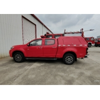 China 4 Cylinders 15MPa Diesel Engine 161HP Pickup Fire Truck on sale