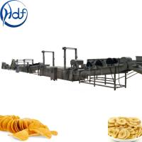 Quality Banana Processing Automatic Potato Chips Making Machine 304 SUS Material for sale