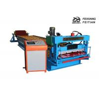 Quality Sheet Metal Roll Forming Machines / Roof Tile Making Machine 1 Year Warrantee for sale