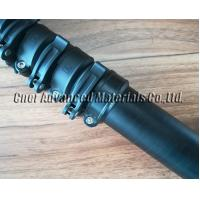 Buy cheap Scratch matte finish 1.56m contraction length carbon fibre telescoping pole for from wholesalers