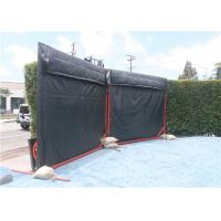 Quality Temporary Noise Barriers 4 layer waterproof, Fireproof, Weather Resistant Noise Barriers Blanket for sale