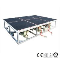 Quality 2600x2000mm Air Float Glass Breaking Table Pneumatic Control System for sale