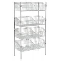 Quality Floor Type Commercial Wire Shelving , Hotel Counter Top And Food Prepare Stainless Steel Work Tables for sale