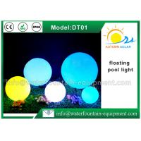 Quality PE Material Floating Pool Lights , Swimming Pool Floating Lights Low Carbon for sale