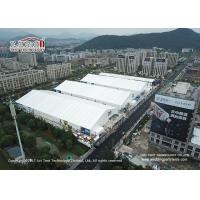 Buy cheap 35m Aluminum Frame White PVC Cover Garden Storage Tent For Exhibition Hall from wholesalers