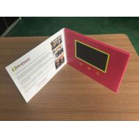 Quality 5inch Festival Gift Use and Greeting Card Paper Type digital video business card for sale