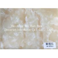 Quality Marble Look Vinyl Marble Adhesive Film 500 Meters / Roll Environmental Protection for sale