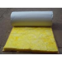 Flexible Fiber Glass Wool Blanket Roof Insulation Materials Sound Absorption