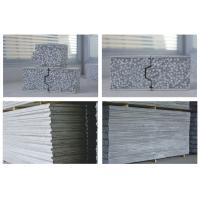 Non Asbestos Gery Fiber Cement Wall Panels For Industrial Plants Fire Retardant