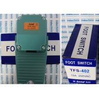Quality Large Foot Tend Limit Switch With Plastics And Aluminium Cast Rind TFS-402 Foot Switch for sale