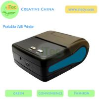 Quality 80mm Portable Wifi Thermal Receipt Mini Wireless Printer with usb mobile portable printer for sale