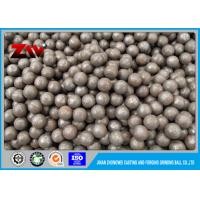 Quality Top Rank steel chrome ball cast iron balls for gold mining and copper mining for sale