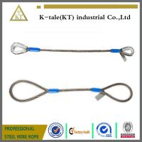 Quality Wire rope slings suited for a wide variety of Heavy Duty lifting for sale