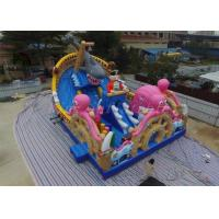 China Multicolored PVC Blow Up Combo Play Playground Ocean World Park For Amusement on sale
