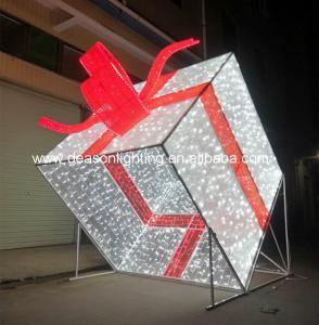 Quality Giant led christmas gift box for sale