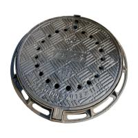 China B7090R Anti-dust fall ductile cast iron manhole cover metal drain covers with frame diameter 700*900mm sale price on sale