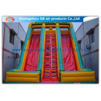 Quality Childrens Industrial Inflatable Water Slides / Inflatable Double Water Slide Fast Delivery for sale