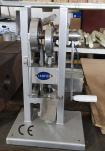 Quality 12mm Manual Single Punch Tablet Press Machine 15KN TDP-0 for sale
