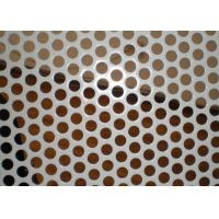 2MM Thickness Galvanized Perforated Metal Mesh for Decoration Door Screen