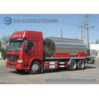 Quality Sinotruck Howo series 6X4 Asphalt Tanker Trailer 10000 L -11000 L 3 Axles 300Hp for sale