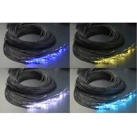 Quality End Light Fiber Optic Cable Lighting 0.75/1.0/1.5/2.0/2.5/3.0 mm with Black PVC Jacket for sale