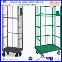 Quality High Capacity Powder Coated Steel Roll Container from Chinese Manufacturer for sale
