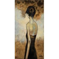 Quality modern figure art oil painting on canvas for sale