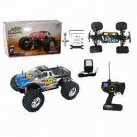 China RC 1:10 4WD Off-road Monster Mad Truck Electric Racing Truck with LCD Remote Controller on sale
