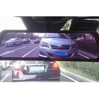 Quality Vehicle Mounted Rear View Mirror Camera Recorder 120 Degree Dual Lens for sale