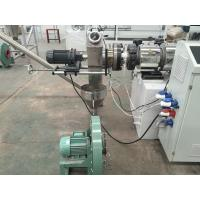 Quality Double Screw Extuder Plastic Recycling Pellet Machine For Rigid PVC Pipe Profiles for sale