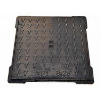 Quality Light Duty Square Cast Iron Manhole Cover Concrete Lawn Manhole Cover 700 X 700 for sale