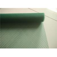China Diamond Mesh Garden Plastic Mesh Fencing , UV Stabilized Plastic Fence Netting on sale
