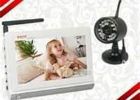 """Quality 7"""" LCD Wireless Signal Baby Monitor with 1 Pcs Dual CCTV Camera/Audio /VideoTwo way speak  for sale"""
